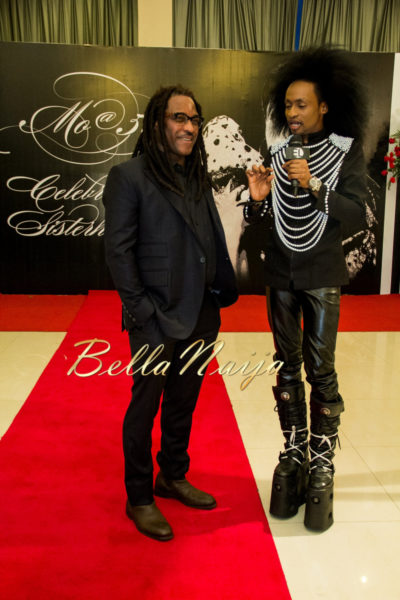 Biyi Bandele and Denrele Edun