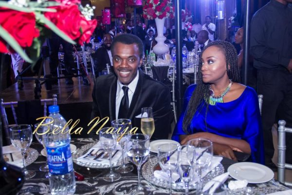 Wale Ojo and Michelle Dede