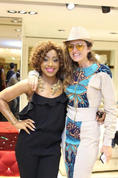 Caterina Bortolussi & Dakore Egbuson Akande