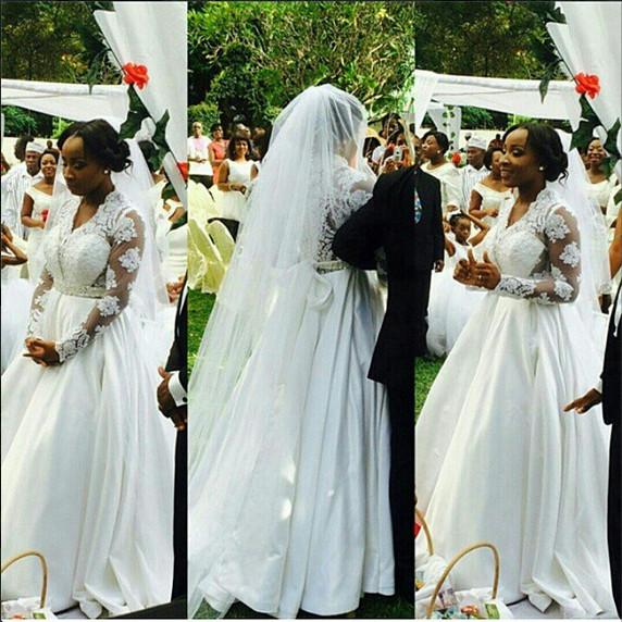 Naa Ashorkor White Wedding | BellaNaija 0