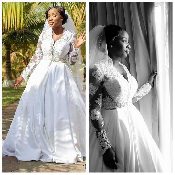 Naa Ashorkor White Wedding | BellaNaija 06