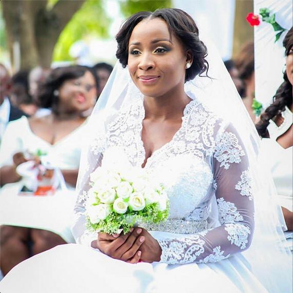 Naa Ashorkor White Wedding | BellaNaija 07
