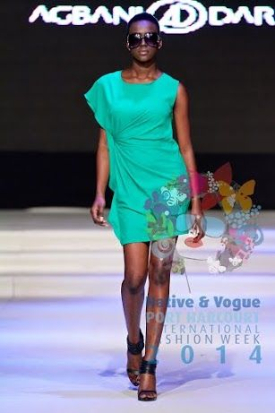 A piece from AD by Agbani Darego