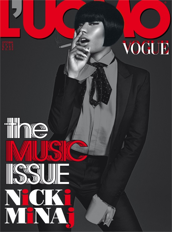 Nicki Minaj Vogue 1