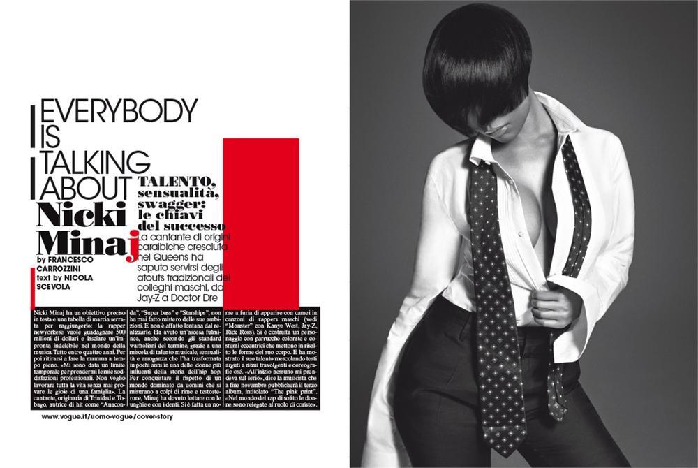 Nicki Minaj Vogue 2