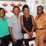 Nimi Akinkugbe, CEO Bestman Games, Nnamdi and Omoni Oboli, Biola Ogunbiyi