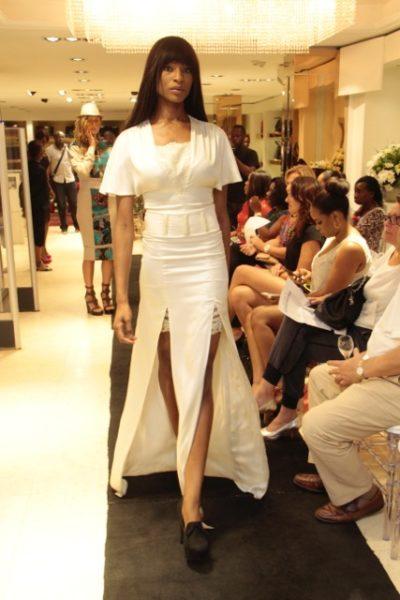 Odsuren dress from the Kinabuti Vlisco Khan Collection