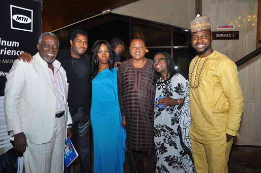 Olu Jacobs, Emmanuel Babayaro, Lala, Jide Kosoko, Joke Silva and Adebola Williams