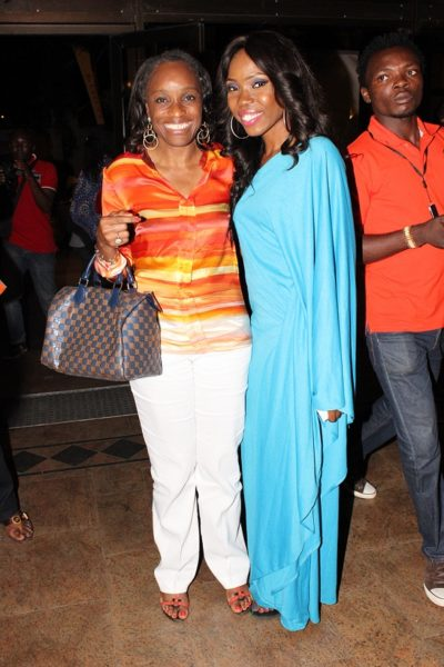 Omobola Johnson and Lala