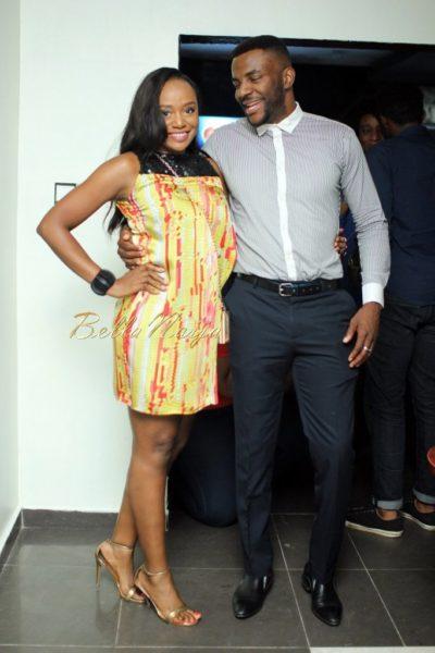 Michelle Dede and Ebuka Obi-Uchendu