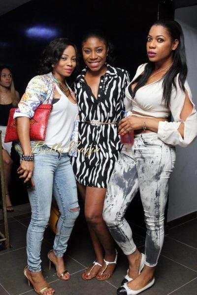 Toke Makinwa, Kaylah Oniwo and Yvonne Okoro