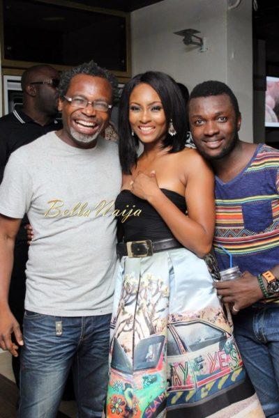 Kelechi Amadi-Obi, Seyi Shay and Ifan Ifeanyi Michael