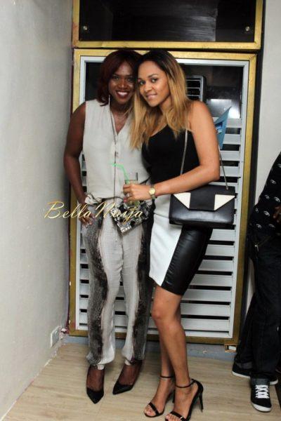 Waje and Tania Omotayo