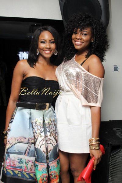 Osas Ighodaro and Kemi Adetiba