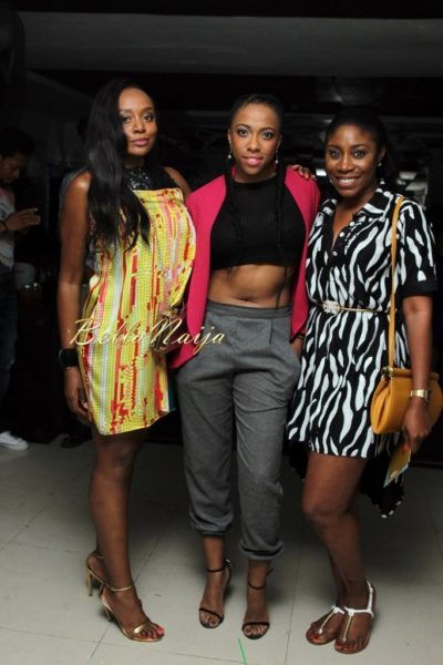 Michelle Dede, Fade Ogunro and Kaylah Oniwo
