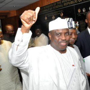 PIC.5. SPEAKER TAMBUWAL  DEFECTS TO APC IN ABUJA