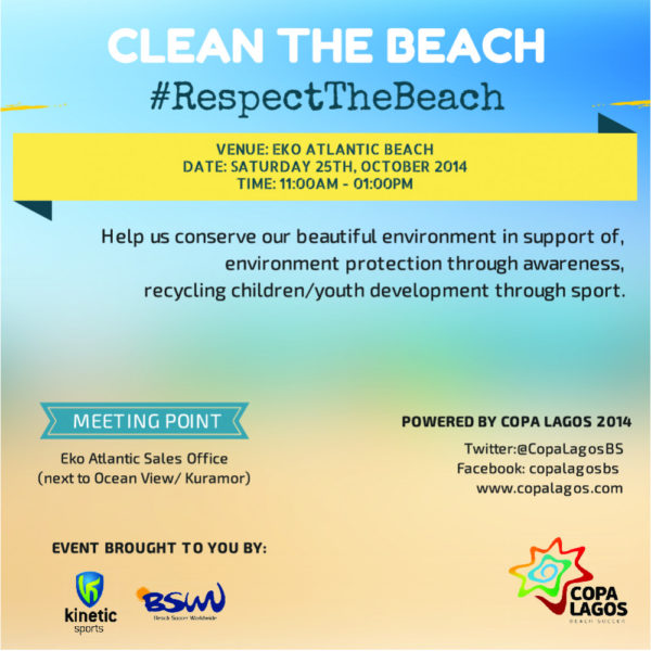 POSTER- CLEAN THE BEACH