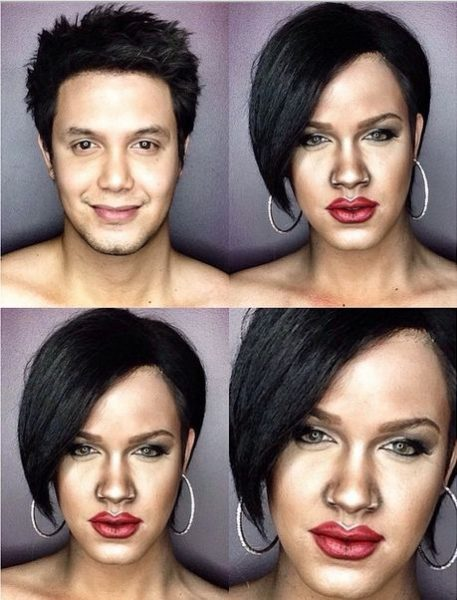 Paolo Ballesterosm Makeup Transformation - Bellanaija - Octoberr2014006