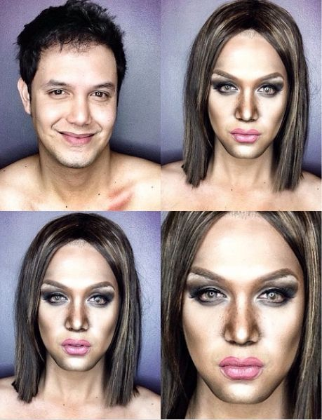 Paolo Ballesterosm Makeup Transformation - Bellanaija - Octoberr2014007