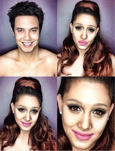 Paolo Ballesterosm Makeup Transformation - Bellanaija - Octoberr2014008