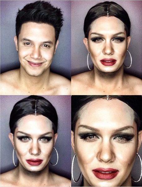 Paolo Ballesterosm Makeup Transformation - Bellanaija - Octoberr2014009