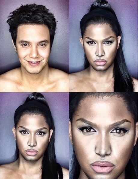 Paolo Ballesterosm Makeup Transformation - Bellanaija - Octoberr2014010