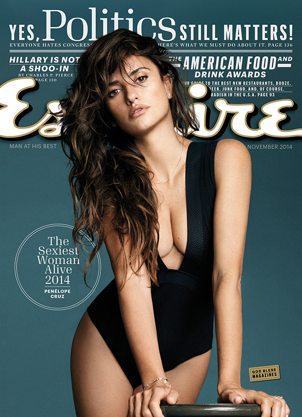 Penelope Cruz Named Sexiest Woman Alive In 2014 by Esquire ...
