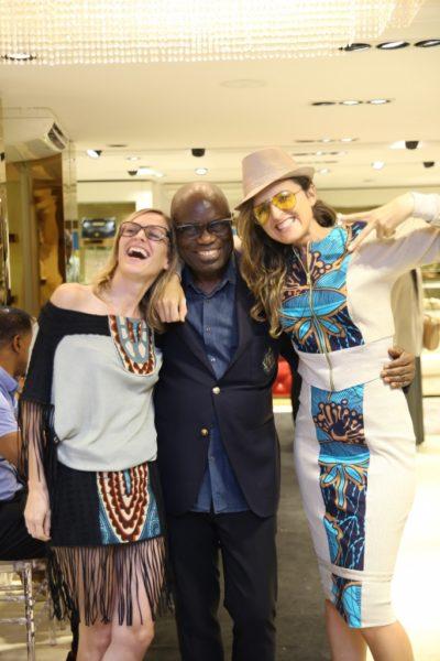 Francesca Rosset, Partner kinabuti, John Obayuwana, MD Polo Limited and Caterina Bortolussi, Kinabuti