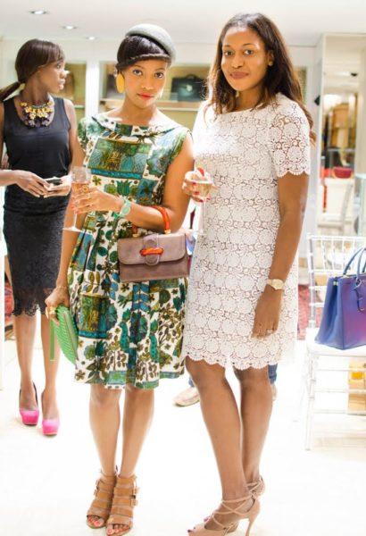 Temi Dollface and Honey Ogundeyi, CEO Fashpa
