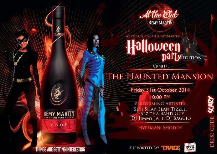 Remy Martin At the Club Haloween Edition - Bellanaija - October 2014