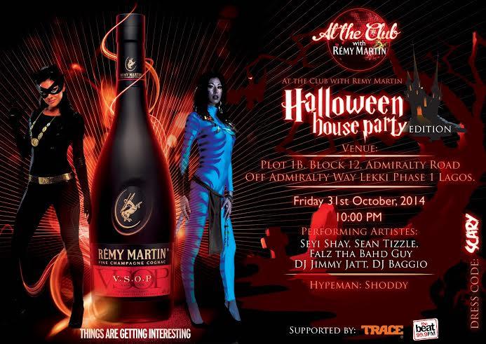 Remy Martin Halloween Party - bellanaija - October 2014