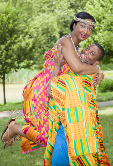Ruth of StyleNique Events & Albert | Ashanti Ghana Kente Pre Wedding Engagement Shoot | BellaNaija October 2014 | 094