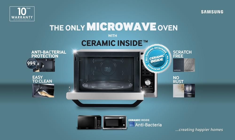 Samsung Smart Microwave Bn