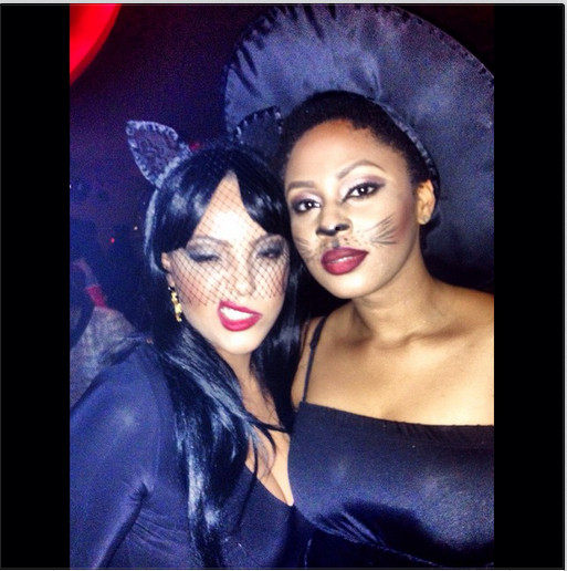 Sarah Ofili and Muna