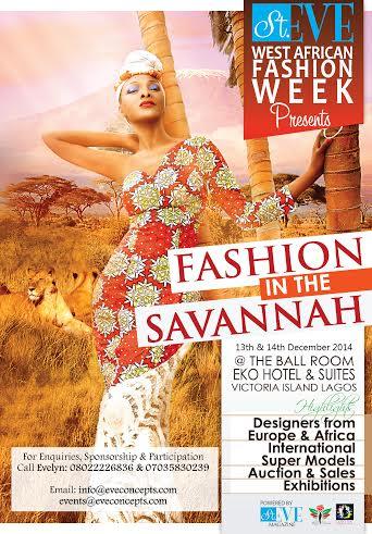 St Eve West Africa Fashion Week Fashion in the Savannah - Bellanaija - October 2014001