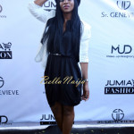 Genevieve Nnaji (Wearing St. Genevieve CHORT Tunic Dress)