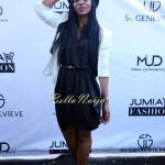 Genevieve Nnaji (Wearing St. Genevieve CHORT Tunic Dress)
