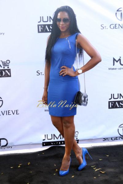 Genevieve Nnaji - Second Look ( Wearing ATLAS Short Dress)