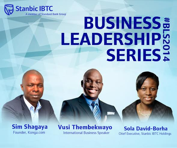 Stanbic IBTC Business Leadership Series 2014 - Bellanaija - October 2014