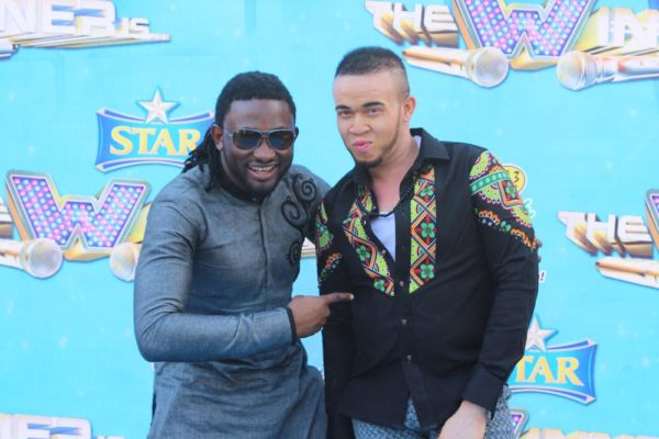 Uti Nwachukwu and Winner of Star The Winner Is
