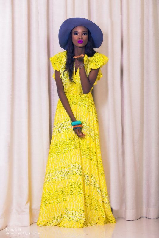 With Love From Nigerian Fashion View Style Me Africa 39 S Debut Campaign Editorial Love Colour