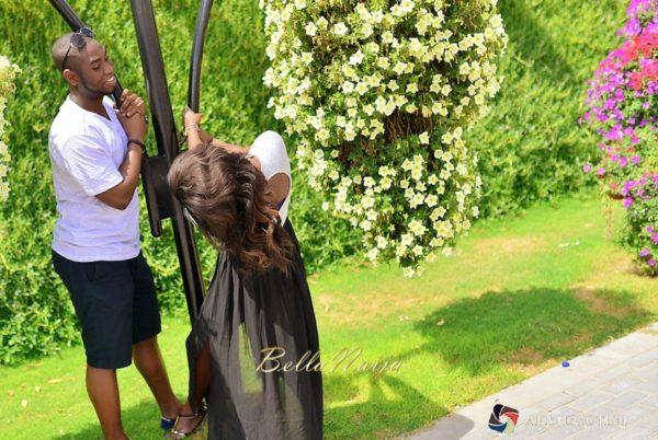 Tari & Toyo | Dubai Miracle Garden Pre Wedding Shoot | AkinTayoTimi | BellaNaija 002