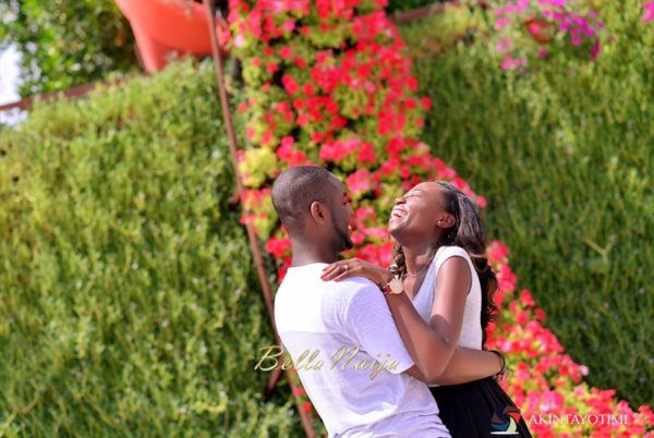 Tari & Toyo | Dubai Miracle Garden Pre Wedding Shoot | AkinTayoTimi | BellaNaija 023