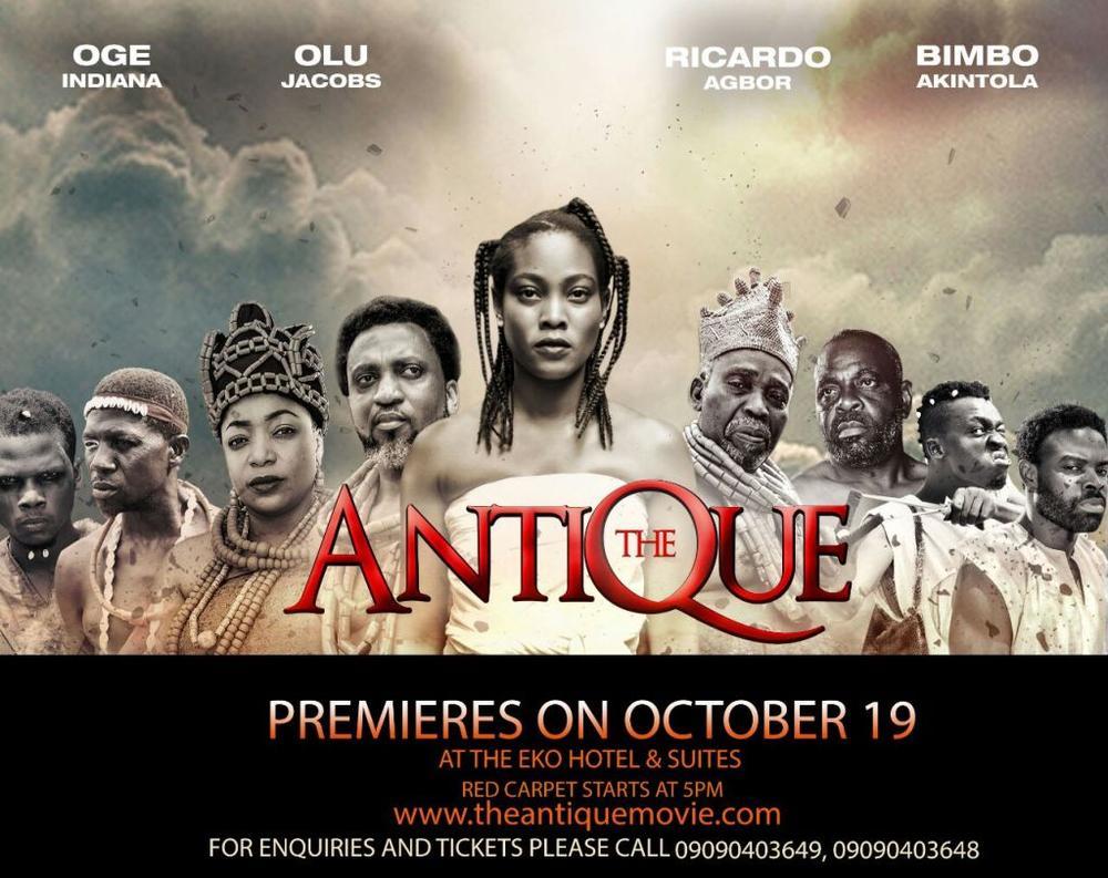 The Antique Movie - Bellanaija - October 2014