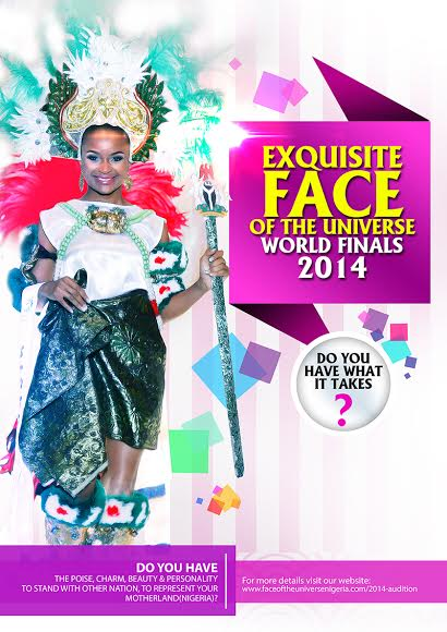 The Exquisite Face of the Universe World Finals 2014 - Bellanaija - October 2014