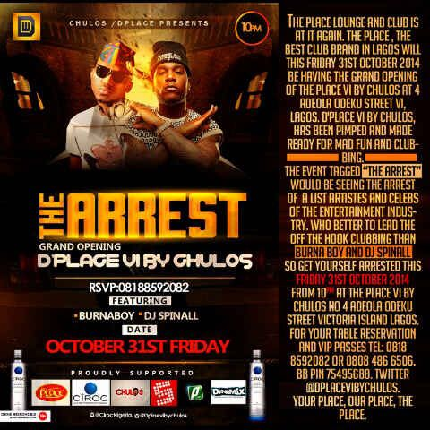 The Place Victoria Island The Arrest - Bellanaija - October 2014