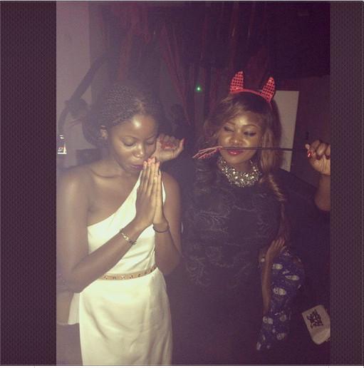 Toolz and Ann Ogunsulire