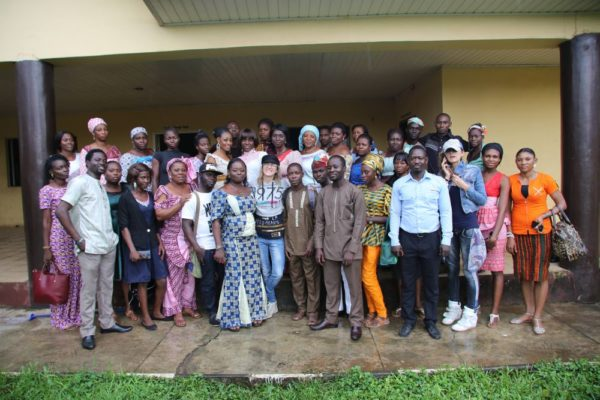 Vlisco Group and Kinabuti Fashion Initiative Tailoring Master Class Training - Bellanaija - October2014008