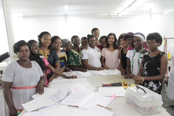 Vlisco Group and Kinabuti Fashion Initiative Tailoring Master Class Training - Bellanaija - October2014012