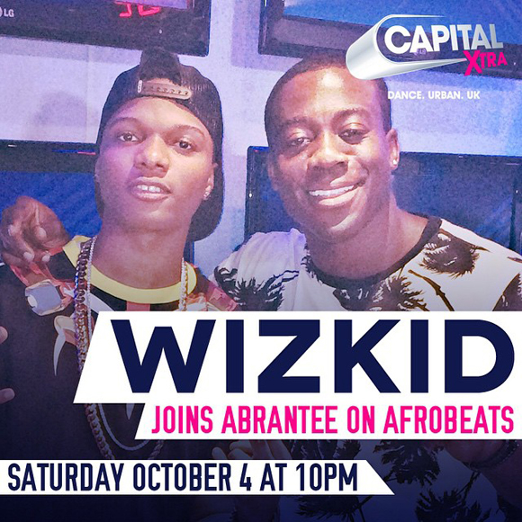 Wizkid with DJAbrantee Capital Xtra